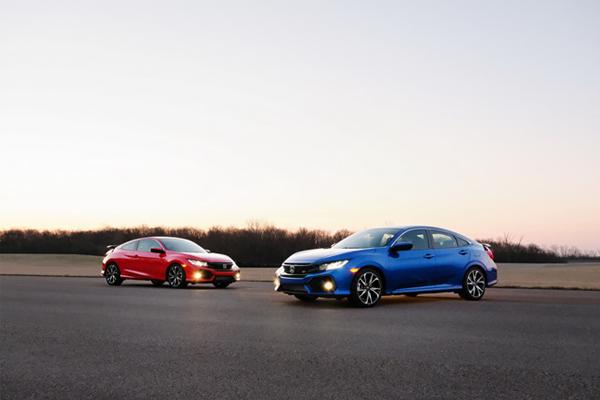 Honda Civic Si 2017 được bán tại Mỹ vào tháng này với giá từ 23.900 USD