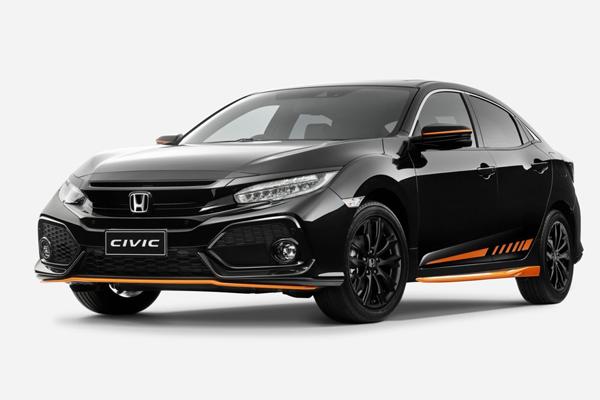 Phiên bản Orange Edition của dòng xe Civic vừa được Honda Australia giới thiệu