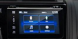 Hệ thống audio hiển thị bằng màn hình cảm ứng 7-inch