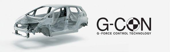 Khung hấp thụ lực an toàn G-CON sử dụng thép có độ cứng cao và tích hợp cấu trúc ACE