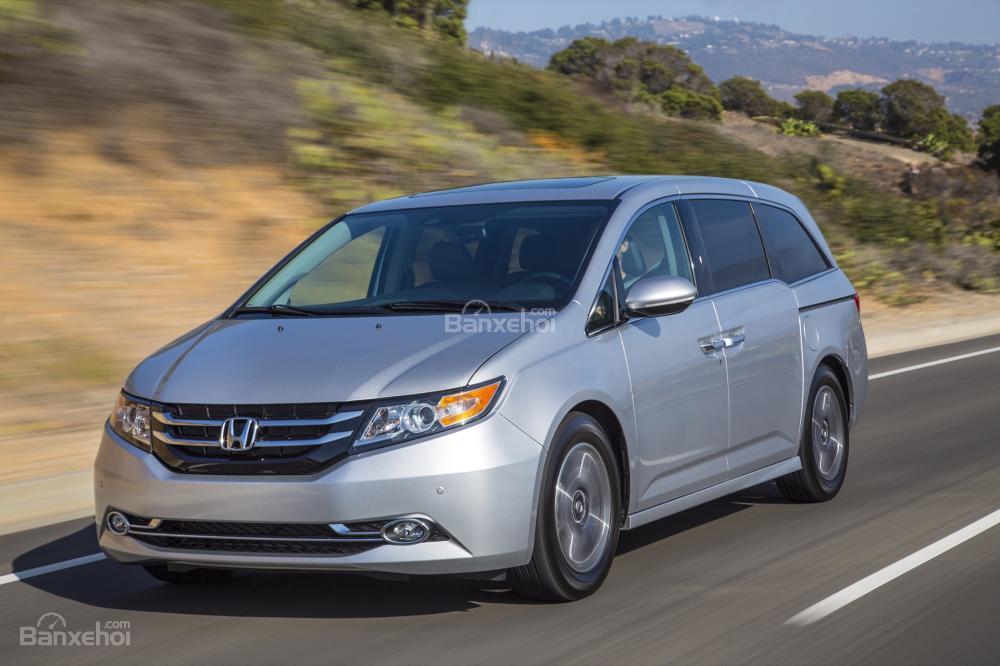 Đánh giá cảm giác lái xe Honda Odyssey 2016